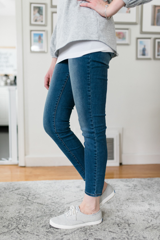 All-Denim Trunk Club Try On | KUT from the Kloth Donna Skinny Ankle Jeans | Trunk Club clothes | Trunk Club review | women's fashion | clothing subscription boxes | Crazy Together blog