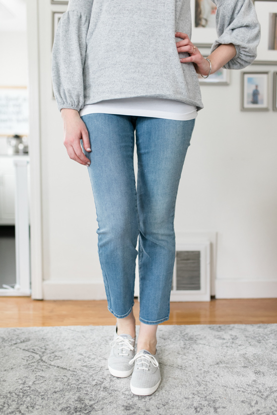 All-Denim Trunk Club Try On | Alina Stretch Skinny Jeans by NYDJ | Trunk Club clothes | Trunk Club review | women's fashion | clothing subscription boxes | Crazy Together blog