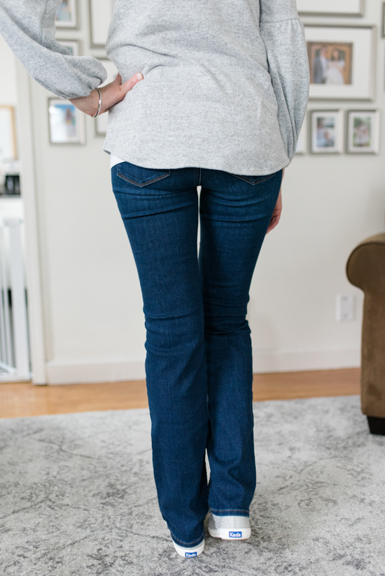 All-Denim Trunk Club Try On | Marilyn Stretch Straight Leg Jeans by NYJD | Trunk Club clothes | Trunk Club review | women's fashion | clothing subscription boxes | Crazy Together blog