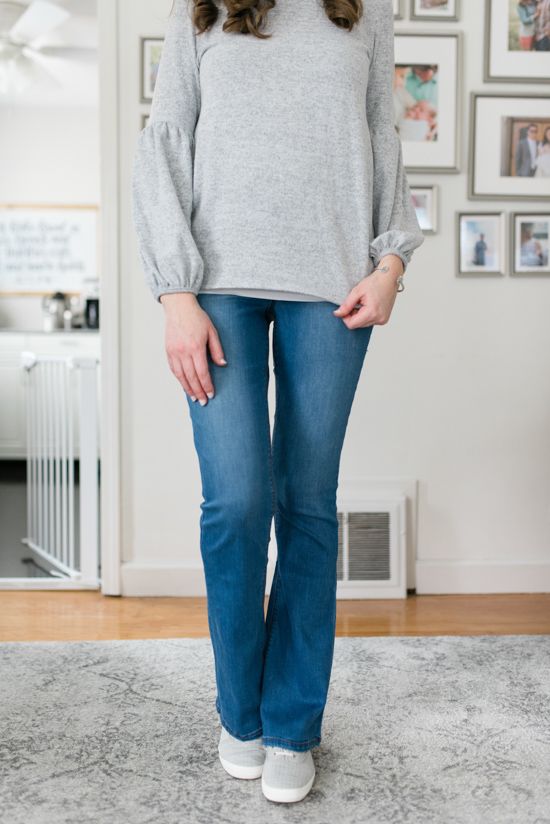 All-Denim Trunk Club Try On | Ab-Solution Itty Bitty Bootcut Jeans | Trunk Club clothes | Trunk Club review | women's fashion | clothing subscription boxes | Crazy Together blog