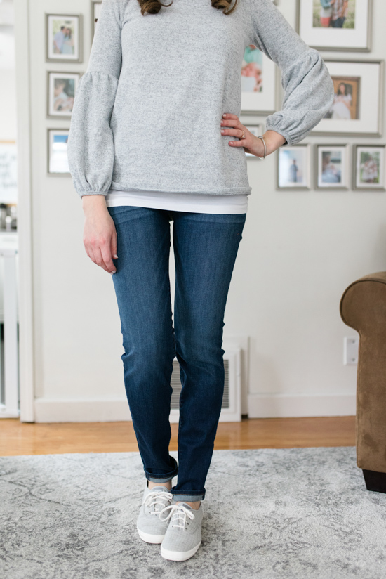 All-Denim Trunk Club Try On | KUT from the Kloth Diana Skinny Jeans | Trunk Club clothes | Trunk Club review | women's fashion | clothing subscription boxes | Crazy Together blog