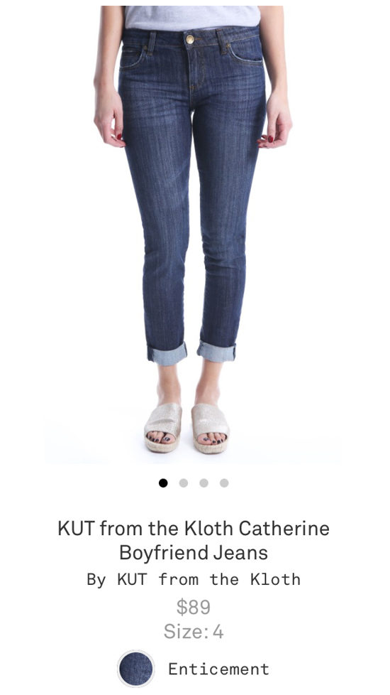All-Denim Trunk Club Try On | KUT from the Kloth Catherine Boyfriend Jeans | Trunk Club clothes | Trunk Club review | women's fashion | clothing subscription boxes | Crazy Together blog