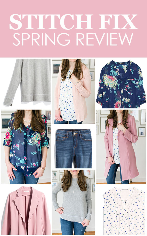 Spring Stitch Fix Review | May 2018 Stitch Fix Review | Stitch Fix clothes | Stitch Fix blogger | Crazy Together blog