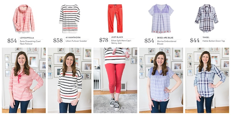 Stitch Fix Spring Review | stitch fix clothes | Crazy Together Blog