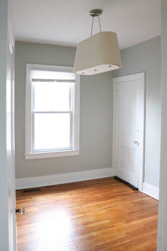 1925 home tour   bedroom with original wood floors   Crazy Together blog
