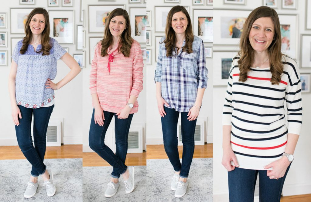 spring Stitch Fix clothes | Crazy Together blog