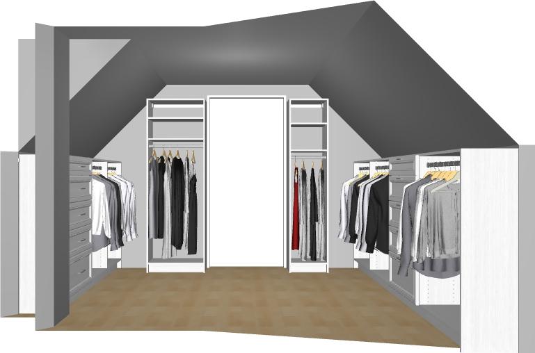 Designing A Master Closet On A Budget With California Closets   Free Closet  Design Consultation |