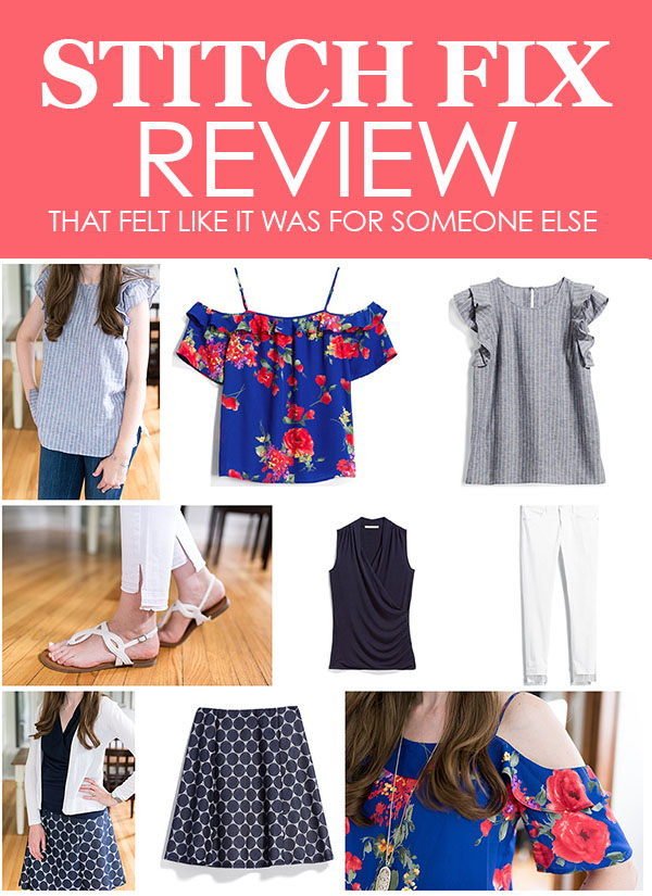 Stitch Fix Review | bad Stitch Fix | negative Stitch Fix review | Stitch Fix shipment for someone else | Stitch Fix clothes | Crazy Together blog