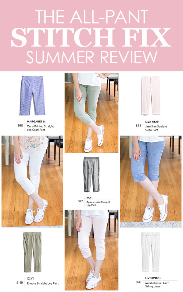 All-Pant Stitch Fix Review | Stitch Fix summer review | Stitch Fix August 2018 | Stitch Fix clothes | Stitch Fix style | Stitch Fix review | Crazy Together blog