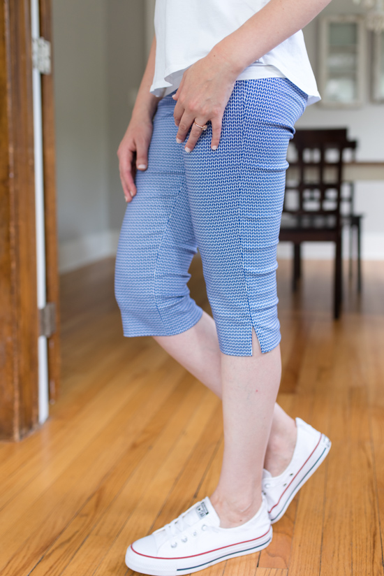 All-Pant Stitch Fix Review | Cerla Printed Straight Leg Capri Pant from Margaret M | Stitch Fix summer review | Stitch Fix August 2018 | Stitch Fix clothes | Stitch Fix style | Stitch Fix review | Crazy Together blog