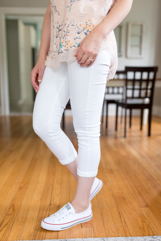 All-Pant Stitch Fix Review | Mirabella Roll Cuff Skinny Jean | Stitch Fix summer review | Stitch Fix August 2018 | Stitch Fix clothes | Stitch Fix style | Stitch Fix review | Crazy Together blog