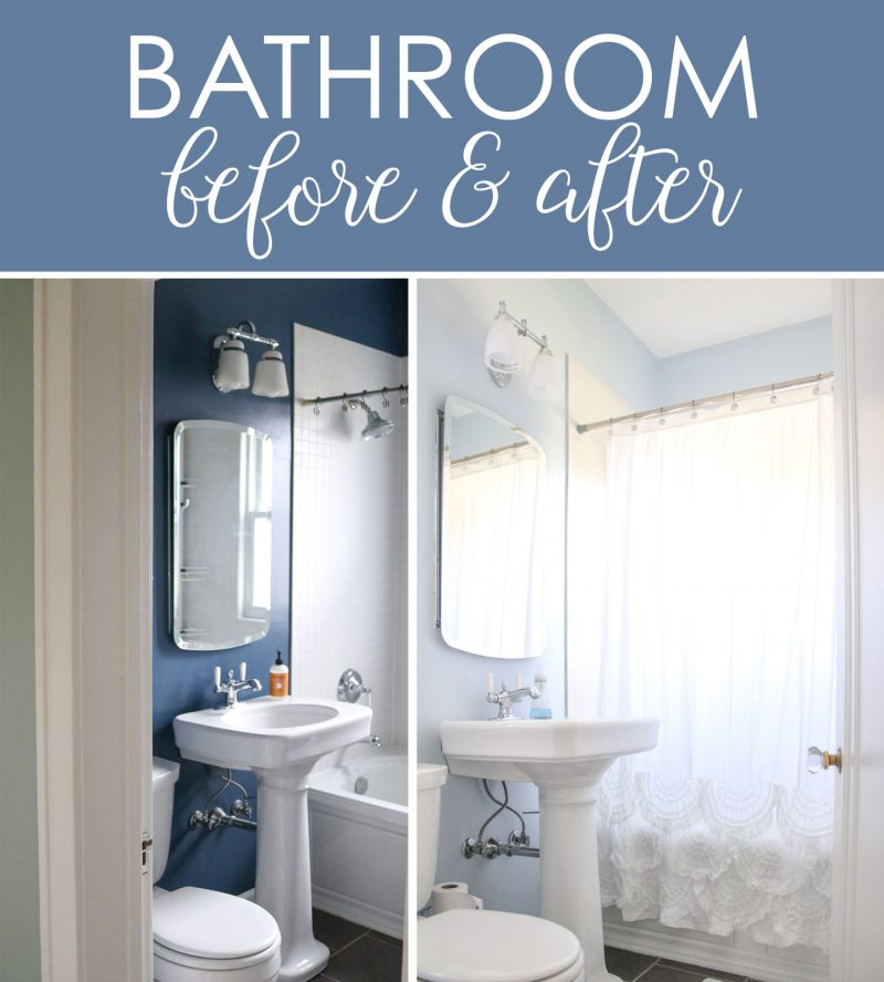 1925 craftsman house before and after | kitchen and bathroom before and after | old houses | home update | Crazy Together blog