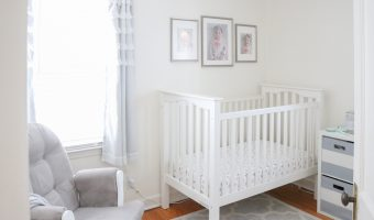 Dessa's Gray and White Nursery Tour
