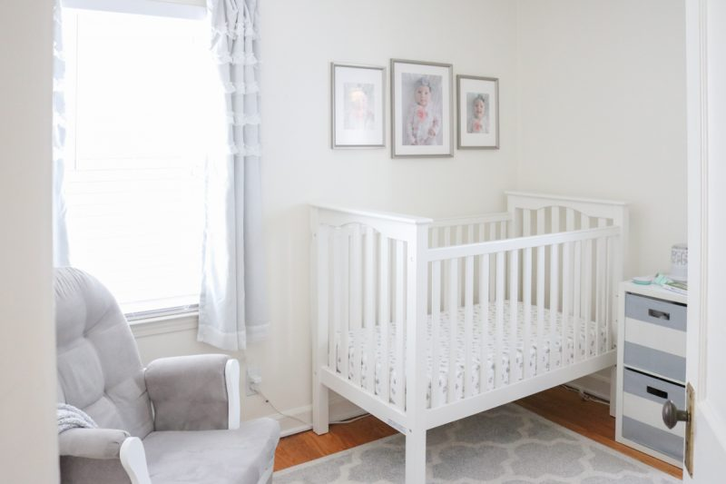 Dessa S Gray And White Nursery Tour