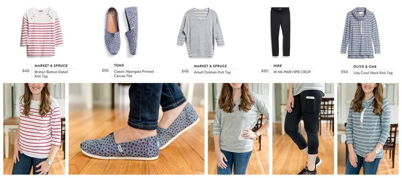 Have you tried Stitch Fix yet? It is my favorite way to shop for new clothes. Just fill out a quick form online and a personal stylist will hand-pick 5 items and ship them right to your door. Check out my October 2018 Stitch Fix Review! | Stitch Fix | Stitch Fix clothes | Crazy Together blog