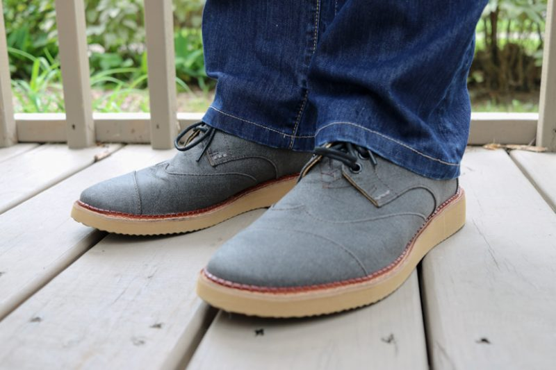 Ash Aviator Lace-Up Brogue by Toms | Stitch Fix Men Review | Stitch Fix Men clothes | Stitch Fix Men style | Stitch Fix review | Crazy Together blog