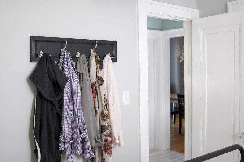 1920s home renovation | 1925 house | 1920s master bedroom inspiration | farmhouse bedroom | gray and white bedroom decor | Crazy Together blog
