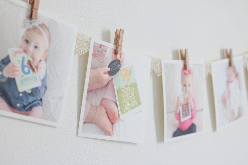 baby nursery photo decor | baby girl nursery | gray and white nursery | gender neutral nursery | baby nursery decor | Crazy Together blog