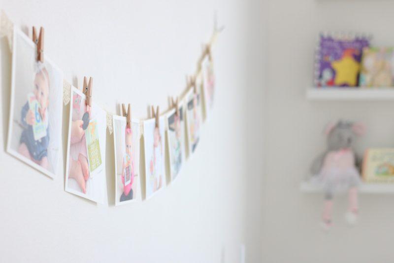 baby girl nursery | gray and white nursery | gender neutral nursery | baby nursery decor | Crazy Together blog