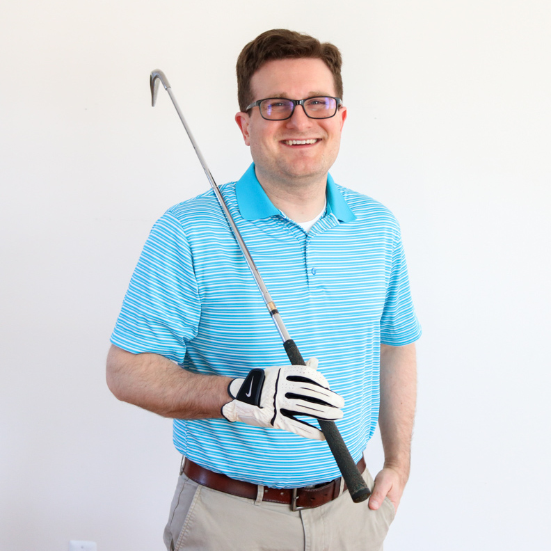 Golfer Robert Gavin from Email Mix-Up