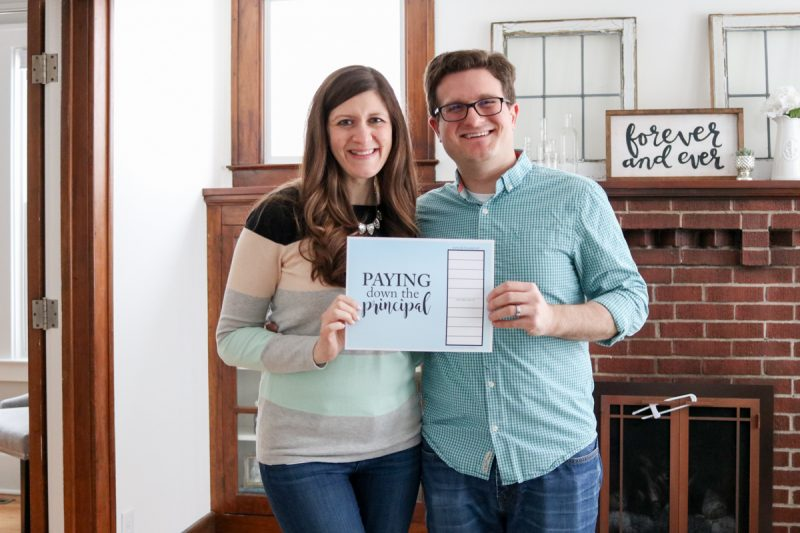 Taking Dave Ramsey's advice and paying extra on the mortgage to get debt free, thanks to Financial Peace University. Here's how one couple is doing it. #daveramsey #fpu #financialpeaceuniversity | Crazy Together blog