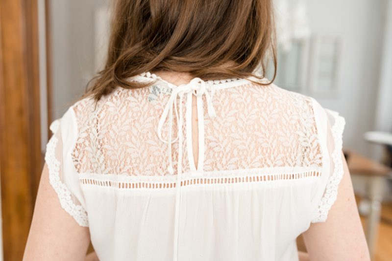 Stitch Fix Becru Lace Detail Blouse from Daniel Rainn| Stitch Fix clothes | stitch fix fashion | #stitchfix | Crazy Together blog