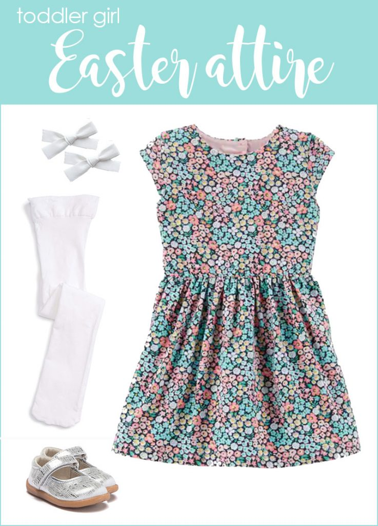 toddler girl Easter attire | spring toddler clothes | kids fashion #kidsfashion | Crazy Together blog