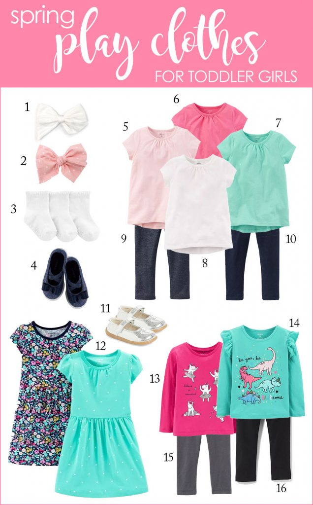 toddler girl spring play clothes | spring toddler clothes | kids fashion #kidsfashion | Crazy Together blog