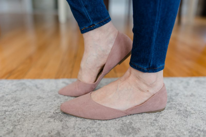 blush pink flats | spring style | spring fashion | Crazy Together blog