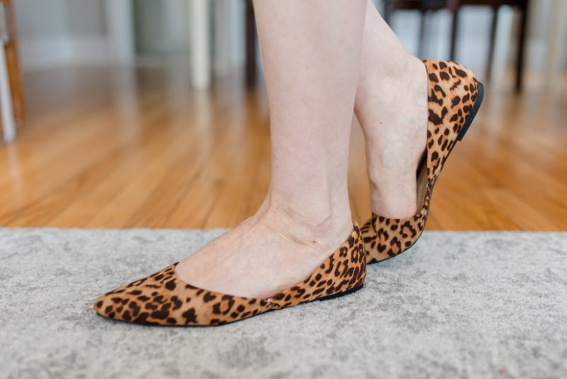 leopard print flats | Crazy Together blog