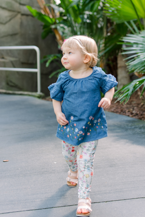 Budget friendly spring styles for mommy and me   neutral denim and chambray spring fashion   #springfashion #mommyandme   Crazy Together blog