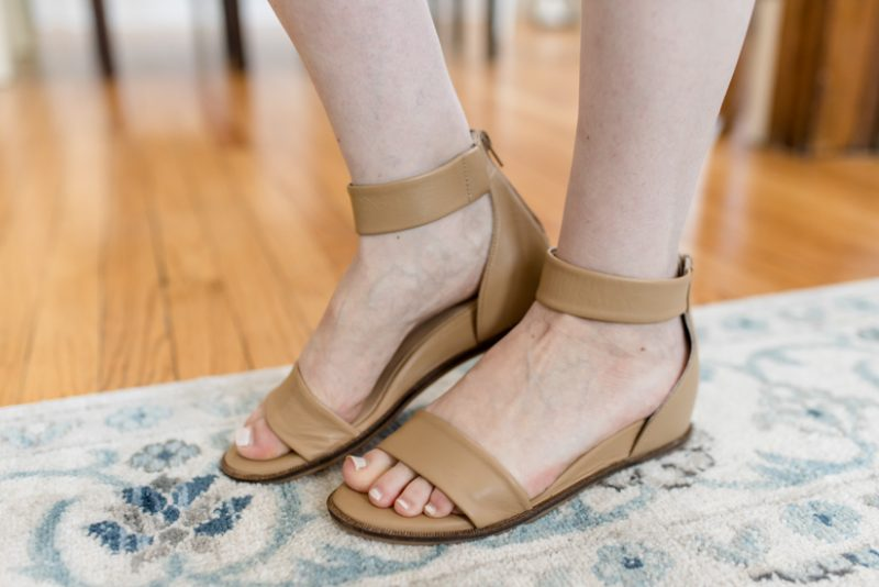 Trunk Club Maternity Review - Ankle Strap Sandal from Seychelles | style box | women's fashion | maternity clothes | #stitchfix #trunkclub | Crazy Together blog