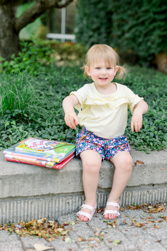 Budget-friendly family memories with Stitch Fix Kids - taking a trip to the local public library | family fashion | kids fashion | family style | Crazy Together blog