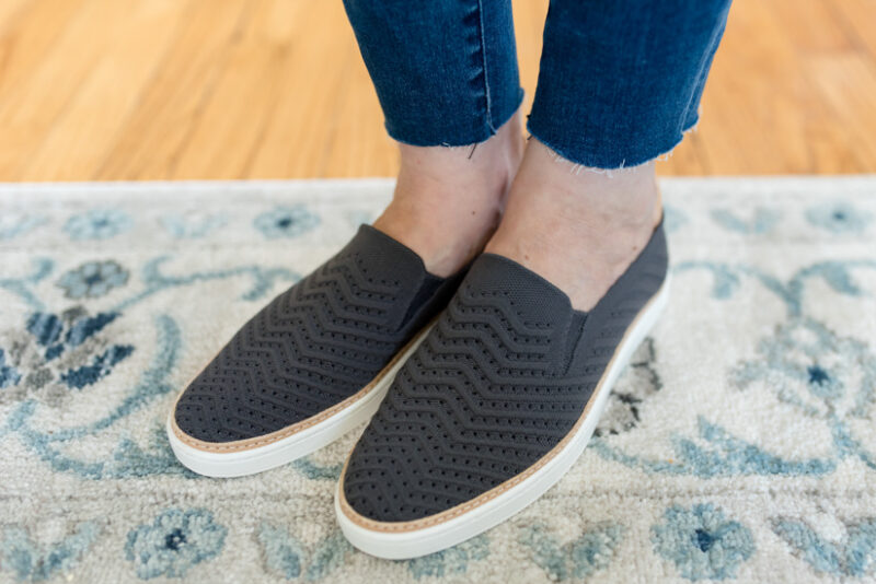 Summer 2019 Trunk Club Review featuring bump-friendly styles - Sammy Slip-On Sneaker from UGG | #stitch Fix #trunkclub #fashion #maternity | Trunk Club vs. Stitch Fix Crazy Together blog