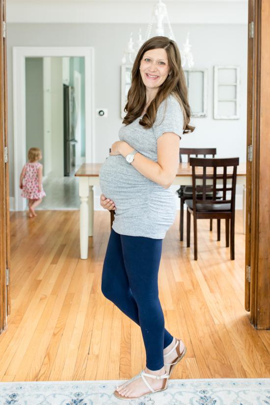 Stitch Fix Maternity Review - Alma Maternity Knit Top from Market & Spruce | Stitch Fix style | Stitch Fix clothes | fashion | fall clothes | maternity clothes | #stitchfix #maternity | Crazy Together blog