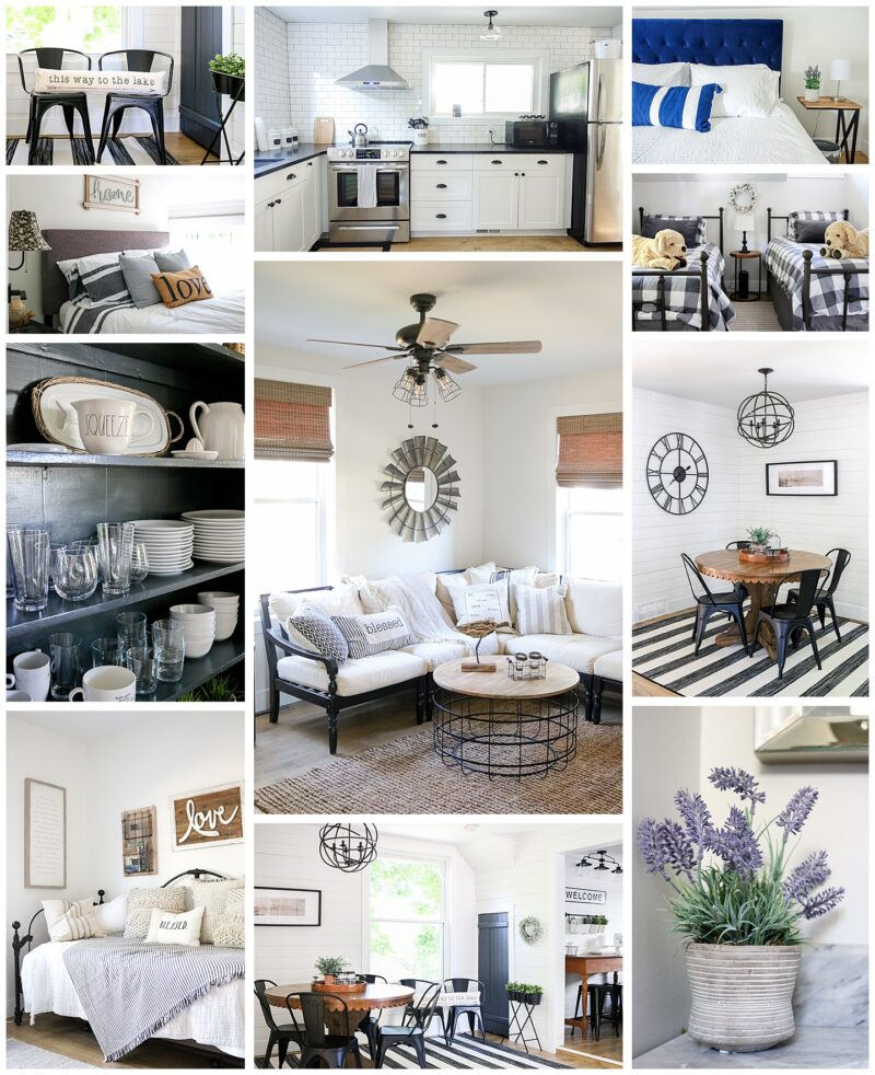 Newly renovated modern farmhouse Airbnb in Charlevoix, Michigan   Crazy Together blog