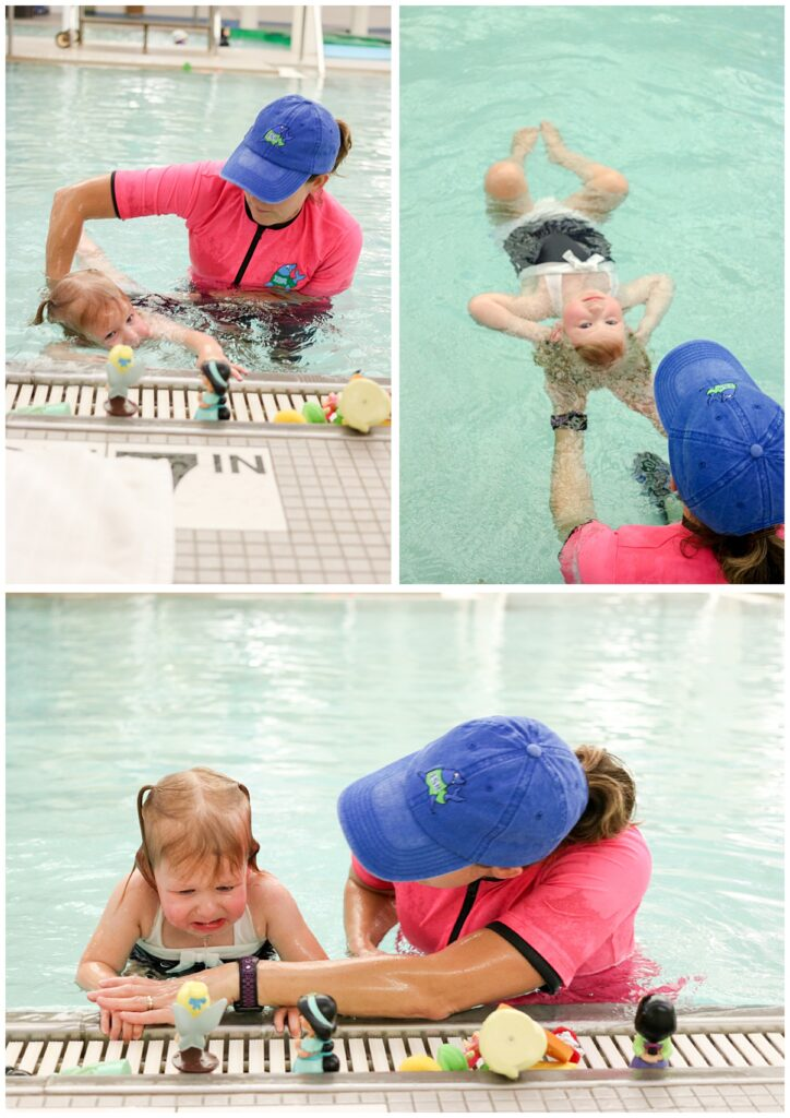Our personal experience with ISR swim lessons
