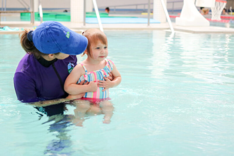 ISR swim lessons teach Infants and toddlers to rescue themselves if they accidentally fall into a pool or lake. The end-result is incredible, but the process can be worrisome intimidating for parents the first time around. Here's an honest review of our experience with ISR swim lessons for our 2 year old daughter.