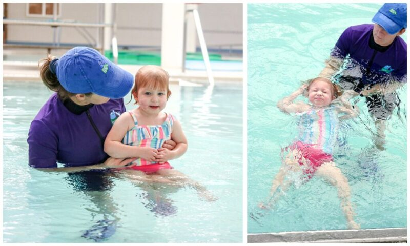 An in-depth look back at our experience with ISR water survival swim lessons for our toddler