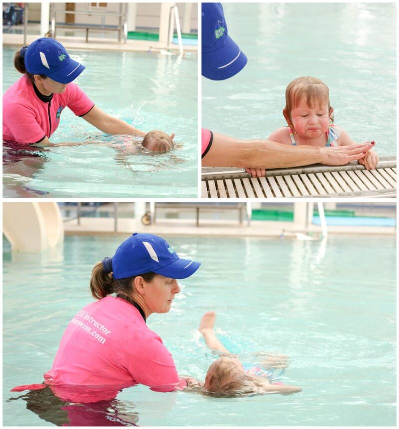 week-by-week account of our personal experience with ISR swim lessons