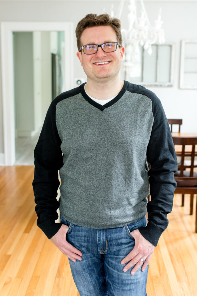 Woodland Saddle Sleeve V-Neck Sweater from Rye by Hawker Rye   Stitch Fix Men review   Crazy Together blog