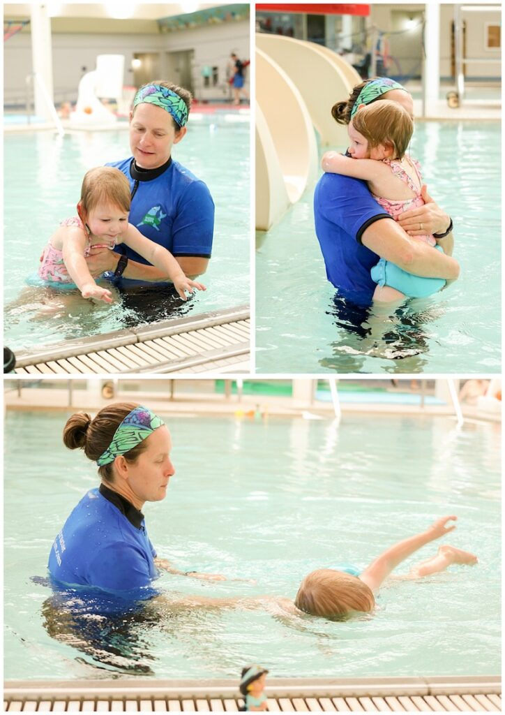 Our personal experience with ISR swim lessons for our toddler