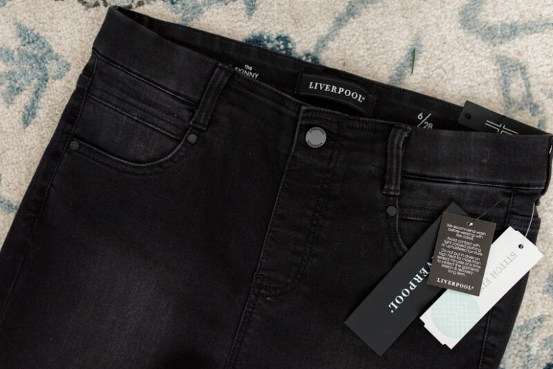 February Stitch Fix review - Gia Glider Pull-On Skinny Jean from Liverpool | Stitch Fix clothes | style box review | Crazy Together blog #stitchfix #fashion #fashionreview