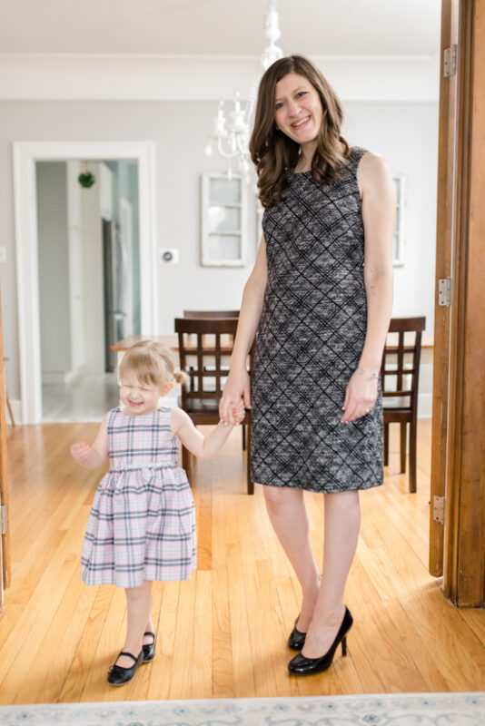 Great Stitch Fix clothes for Mom Life |  Morton Knit Dress from Hailey 23 | March Stitch Fix Review | Stitch Fix clothes | subscription box | style box | #stitchfix #fashionblog | Crazy Together blog