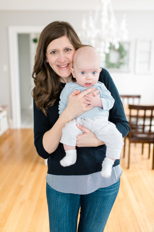Great Stitch Fix clothes for Mom Life | Ralla Cross Back Mixed Media Knit Top from Market & Spruce | March Stitch Fix Review | Stitch Fix clothes | subscription box | style box | #stitchfix #fashionblog | Crazy Together blog
