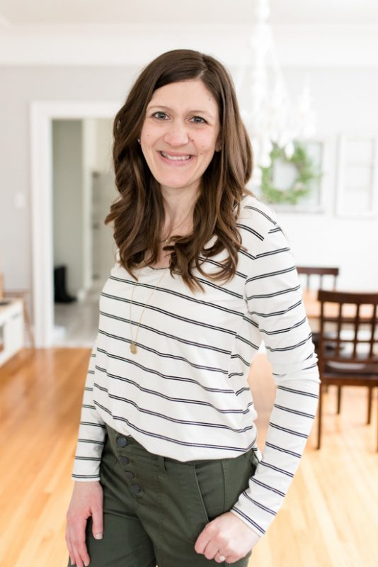 My Trendsend Shipment that Came Before the Quarantine | Trendsend by Evereve personal styling service | Billie Stripe Tunic Tee from Peyton Jensen | #trendsend #stitchfix #stylebox | #stylereview | Crazy Together blog