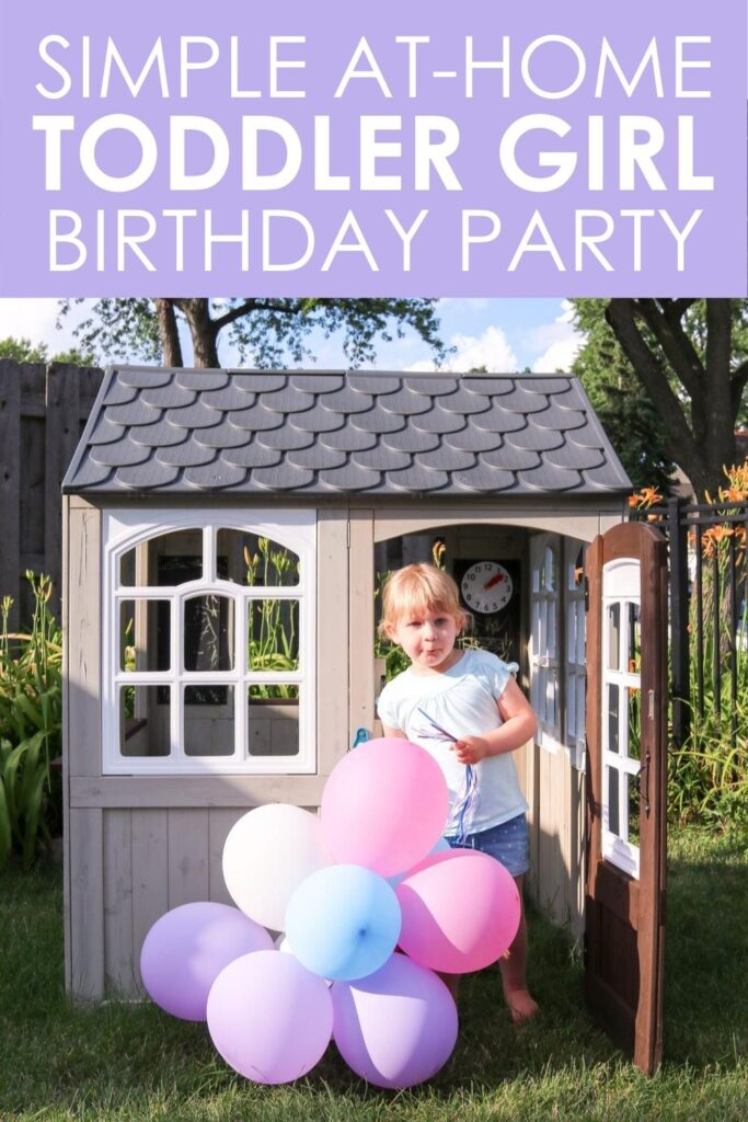 Worried about your toddler girl's birthday party in the age of COVID? A small, at-home birthday party really can be filled with joy and absolutely perfect. Keep the guest list small and the details simple. You already have enough to worry about mama, give yourself a break this year and take inspiration from my daughter's mermaid theme at-home family party for her third birthday. I swear it was the best one yet even though the guest list and details were extra small.