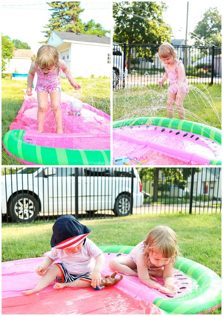 simple ideas for an at-home summer birthday party for a toddler girl