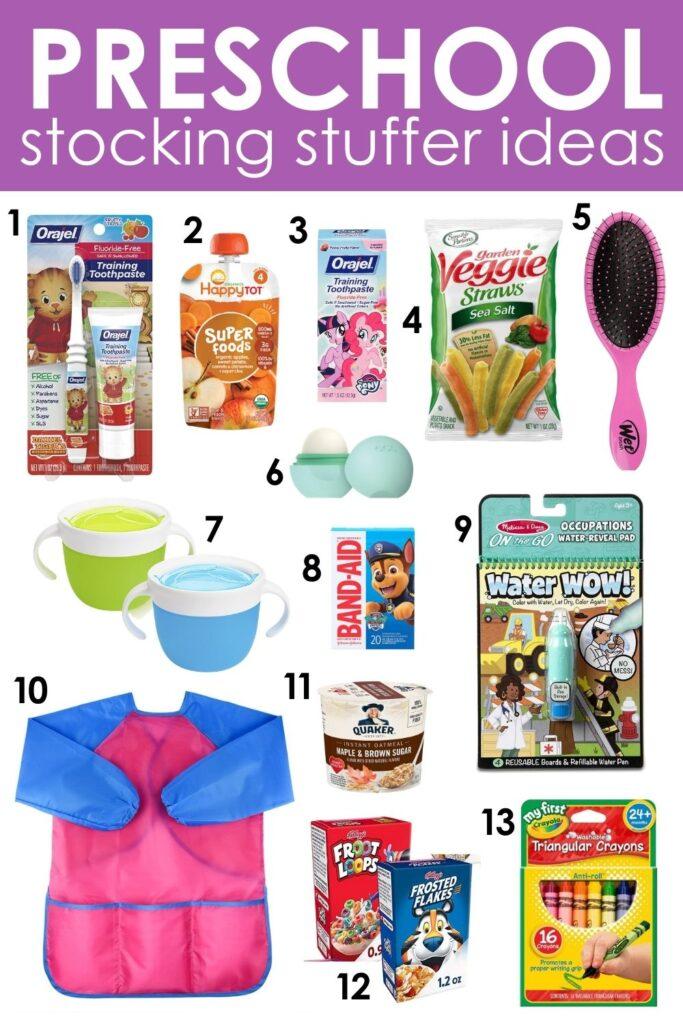 Stocking Stuffer Ideas for Preschoolers