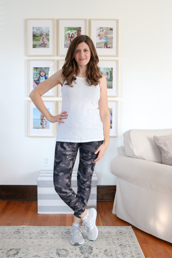 Ivy Ankle Leggings from Wantable Active Edit. I was shocked at how my self-confidence grew while trying on the clothes from my Wantable Active Edit. Here's my honest review of the service. The fitness clothes are great for any season: spring, summer, fall or winter.